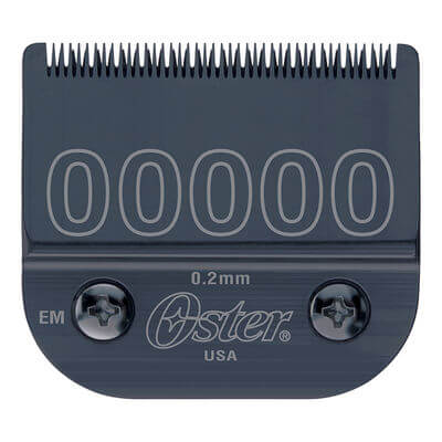 """Oster Diamox Carbon Coated Detachable Blade - 00000 - 1/125"""" 