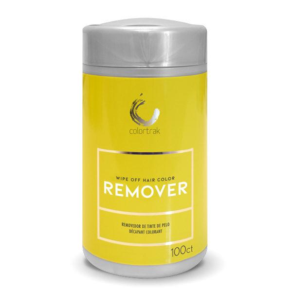 Wipe off color remover